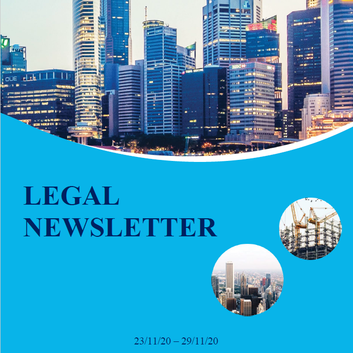 Legal Newsletter No 01 Dec 2020