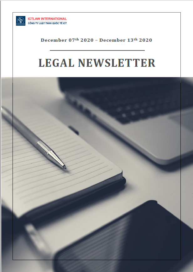 Legal Newsletter No. 03 Dec 2020