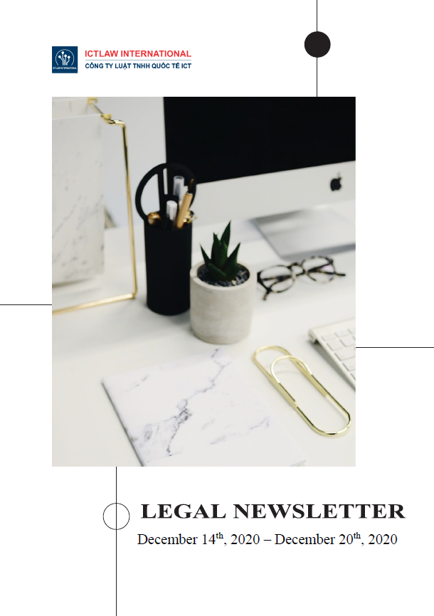 Legal Newsletter No. 04 in December 2020