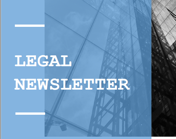 Legal Newsletter No 05 Dec 2020